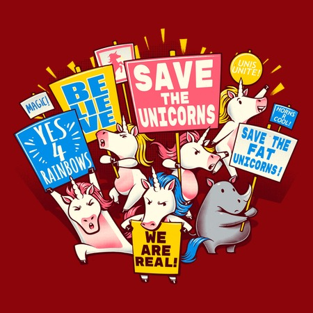 Save The Unicorns! Save The Fat Unicorns!