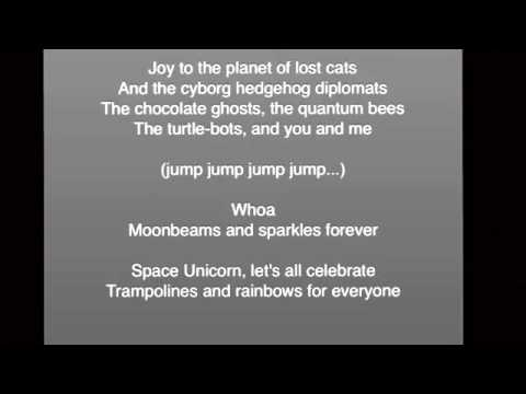 Space Unicorn Holiday  Lyrics