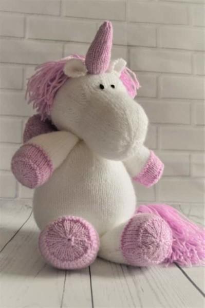Sprinkle The Unicorn Toy Knitting Pattern