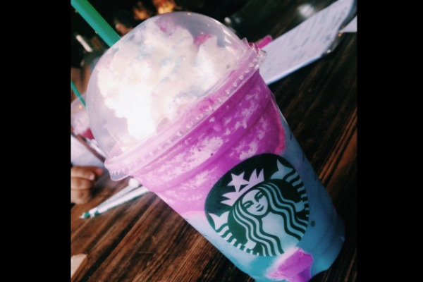 Starbucks' New Unicorn Frappuccino Impaled Online  Tastes Like