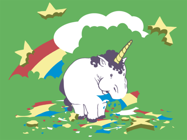 Taste The Rainbow, Fat Unicorn