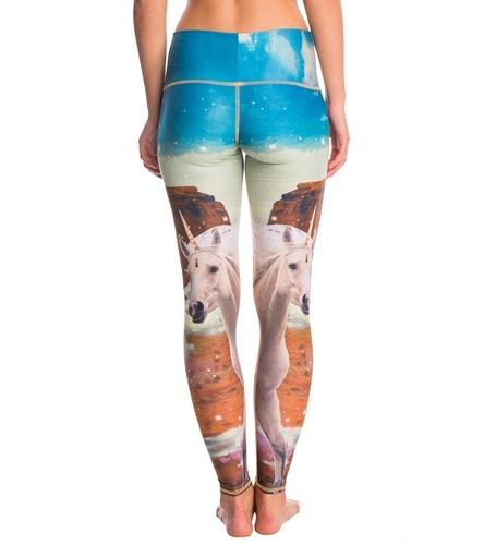 Teeki Unicorn Wrangler Hot Yoga Leggings At Yogaoutlet Com