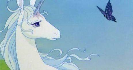 The Unicorn And The Butterfly   Mia Farrow   The Last Unicorn