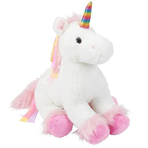 Toys R Us Plush 18 Inch Rainbow Unicorn