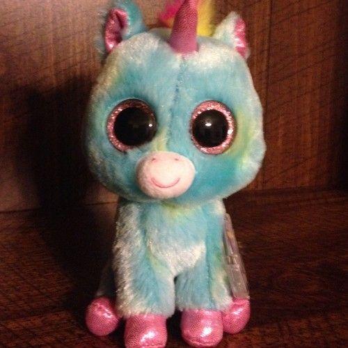 Ty Beanie Boo 6  Treasure The Unicorn