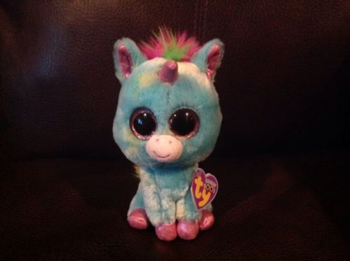 Ty Treasure 6  Unicorn 2012 Beanie Boo Rare L@@k