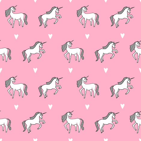 Unicorn    Pink Pastel Champagne Girls Cute Design For Little