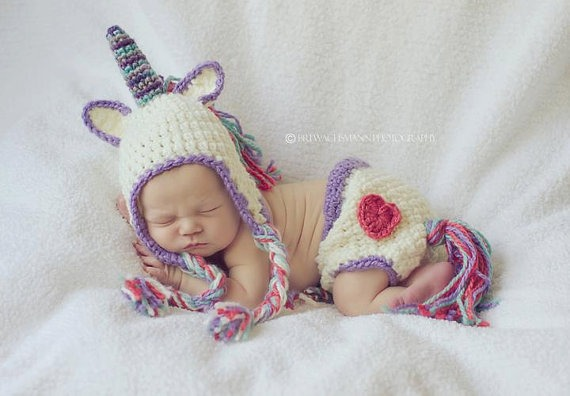 Unicorn, Baby, Hat, Tail, Shared By Sookaiwaii