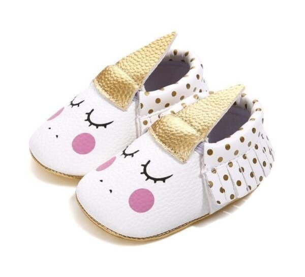 Unicorn Baby Soft Sole  Unicorns  Shoes  Babyshoes  Cute  White