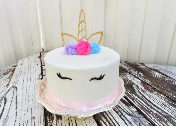 Unicorn Cake Topper Unicorn Cupcake Toppers Unicorn Birthday