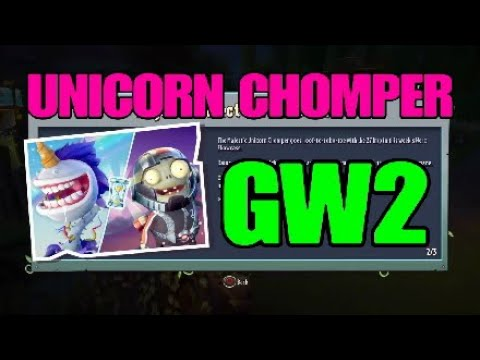 Unicorn Chomper! Plants Vs Zombies Garden Warfare 2!