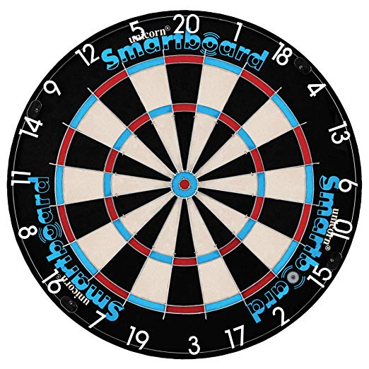 Unicorn Darts App Enabled Smartboard Bristle Dartboard  Amazon Co