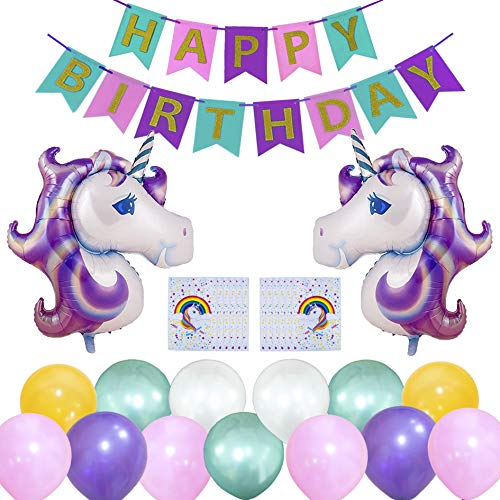 Unicorn Decorations  Amazon Co Uk