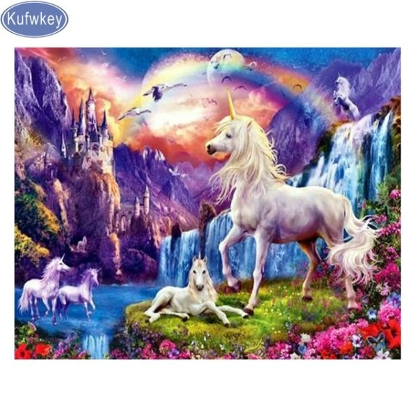 Unicorn Diamond Painting Accessories Cross Stitch Diamond