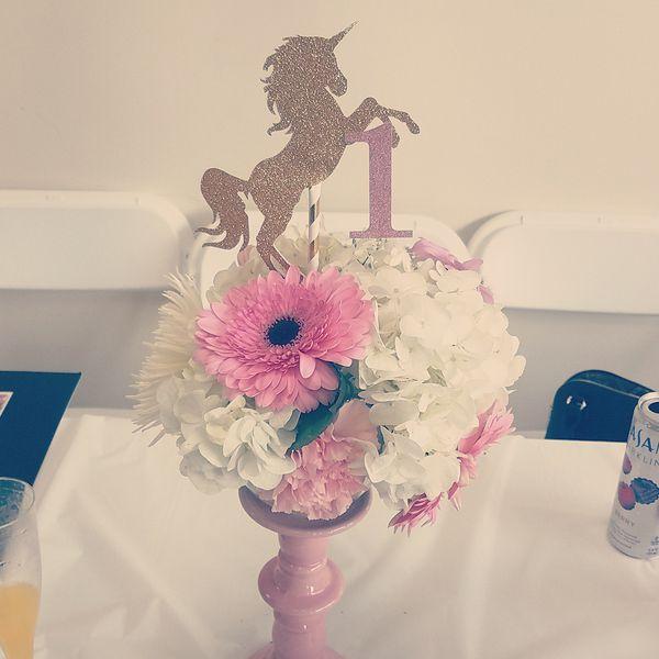 Unicorn Flower Arrangement