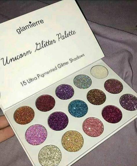 Unicorn Glitter Eyeshadow Palette