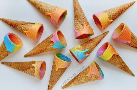 Unicorn Ice Cream Cones