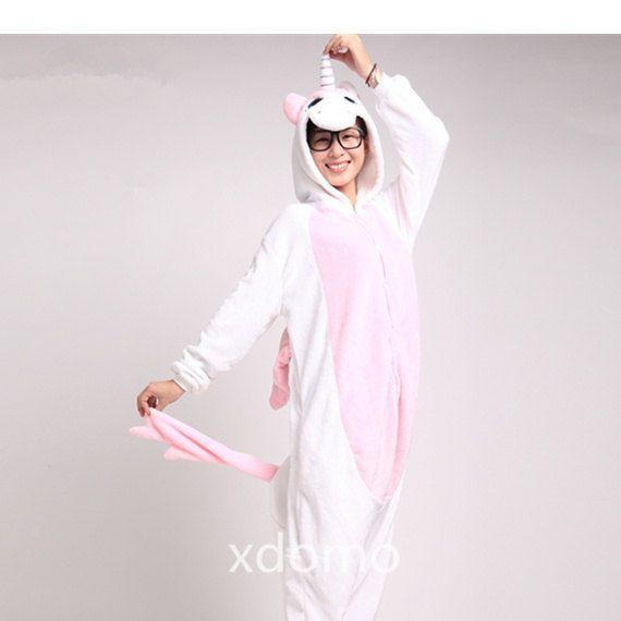 Unicorn Onesie! Adult Footie Pajamas Adult Footed Pajamas For