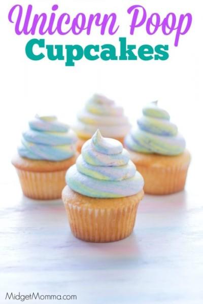 Unicorn Poop Cupcakes (the Trick To The Unicorn Swirl) • Midgetmomma