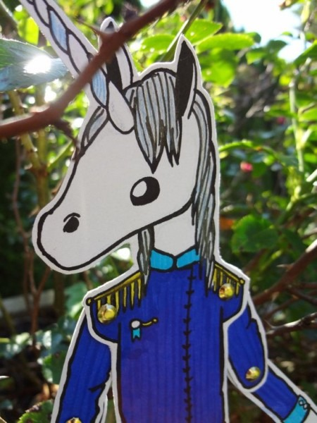 Unicorn Prince Paper Doll By Rosepaperdesigns On Etsy, $12 00