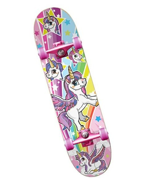 Unicorn Satchel Skateboard