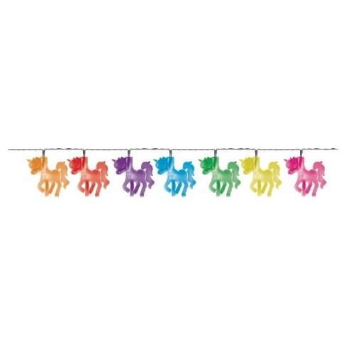 Unicorn Shape Led String Lights 12ct