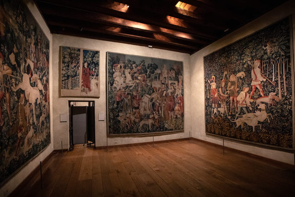 Unicorn Tapestries At The Cloisters – New York, New York