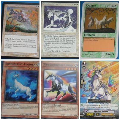 Unicorn Trading Cards 1