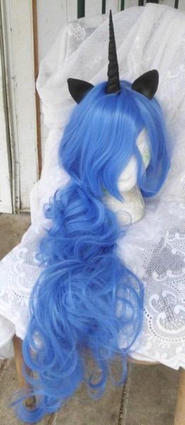 Unicorn Wig, Sale, Nightmare Moon Princess Luna, Mlp Costume My