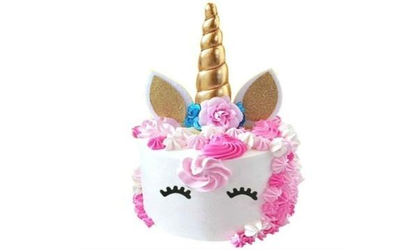 Up To 67  Off On Unicorn Cake Topper Set (6