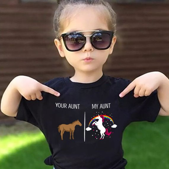 Your Aunt My Aunt Unicorn Shirt 2