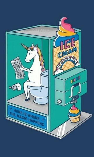 Yumm Unicorn Ice Cream Poop Lol