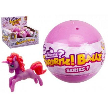 543126   Mini Unicorn Surprise Balls