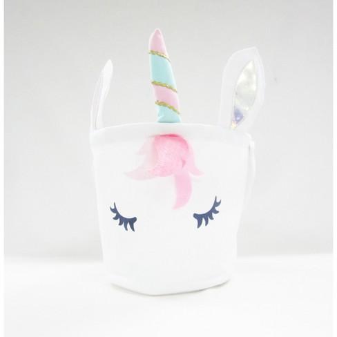 9 5  Canvas Easter Basket Unicorn