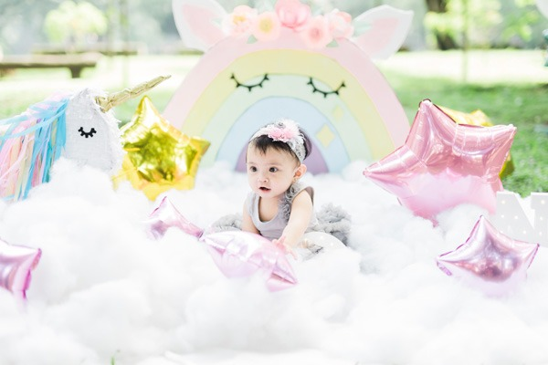 A Chic Unicorn Girl Party