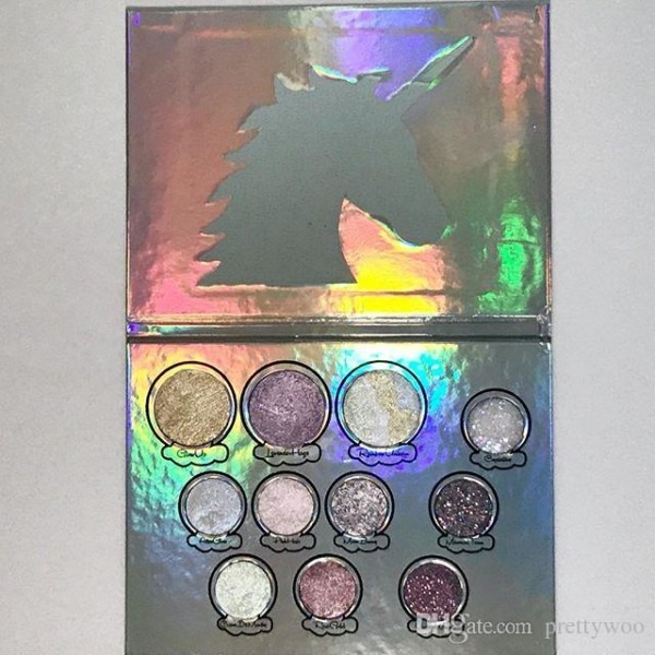 Acheter Maquillage Glittereyes Magica Unicorn Palette 11 Couleurs