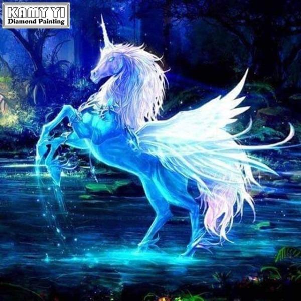 Aliexpress Com   Buy Diamond Embroidery Pegasus Unicorn Paintings
