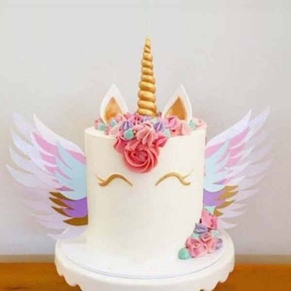 Aliexpress Com   Buy Unicorn Wings Wedding Cake Topper For Decor