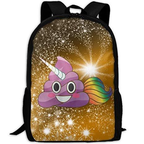 Amazon Com   Winer Cute Magical Unicorn Poop Emoji With Rainbow