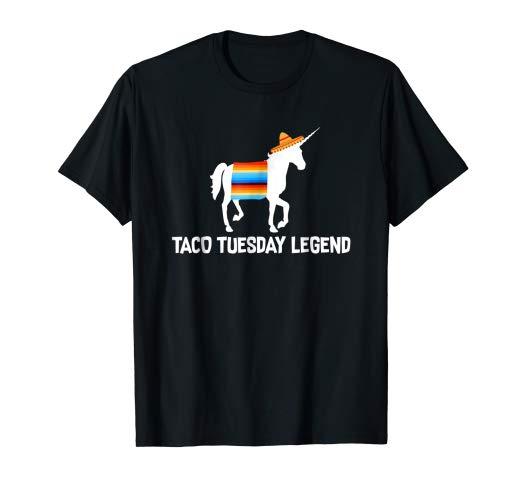 Amazon Com  Funny Cinco De Mayo Shirt Unicorn Taco Tuesday Legend