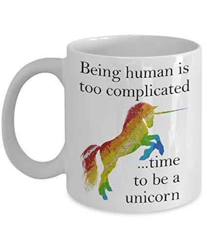 Amazon Com  Gay Unicorn Mug