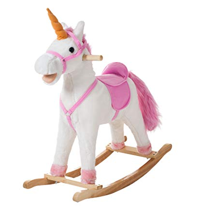 Amazon Com  Happy Trails Bella The Rocking Unicorn Rock On  Toys