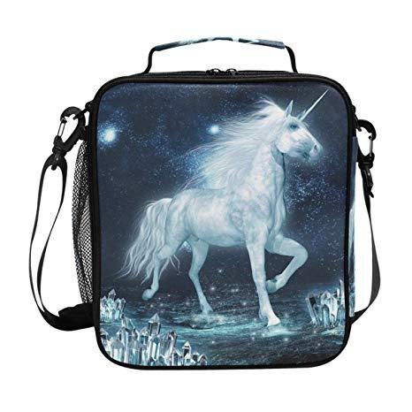 Amazon Com  Insulated Lunch Box Magic Unicorn Large Lunch Bag