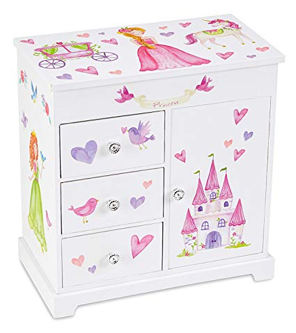 Amazon Com  Jewelkeeper Unicorn Musical Jewelry Box With 3 Pullout