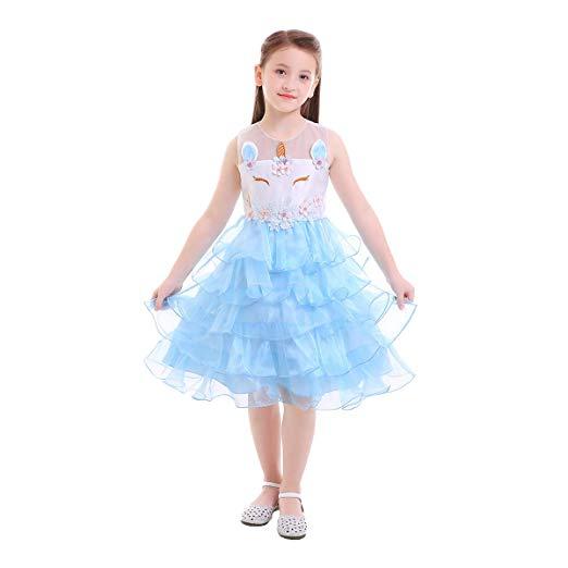 Amazon Com  Kids Unicorn Party Cosplay Princess Birthday Party