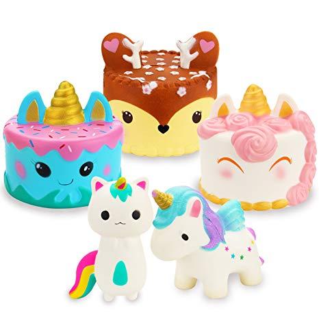 Amazon Com  R   Horse Jumbo Cute Narwhal Cake, Unicorn Cake