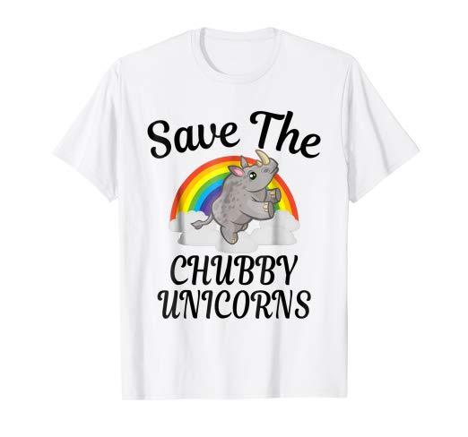 Amazon Com  Save The Chubby Unicorns T