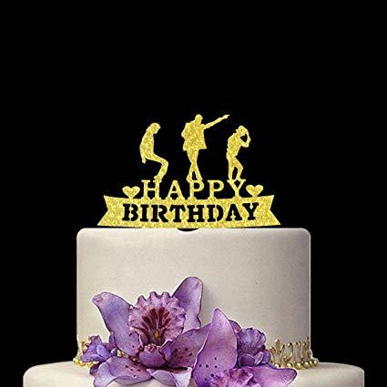 Amazon Com  Tangeekor Happy Birthday Cake Topper