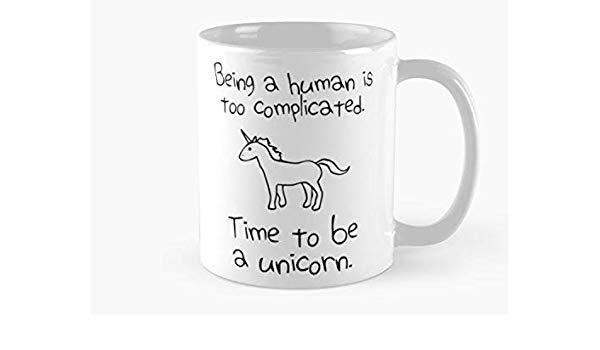 Amazon Com  Time To Be A Unicorn Mug, Standard Mug Mug Coffee Mug