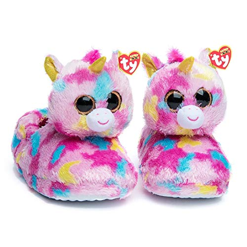Amazon Com  Ty Beanie Boos Kids Girls Big Head Fantasia Unicorn
